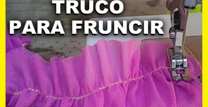 CURSO GRATIS: APRENDE COMO FRUNCIR CON LA MAQUINA DE COSER