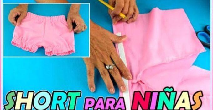 APRENDE A CONFECCIONAR SHORT DE NIÑA CON PATRON