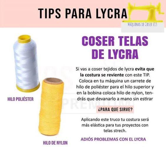 CURSO GRATIS APRENDE A COSER TELA DE LYCRA PASO A PASO