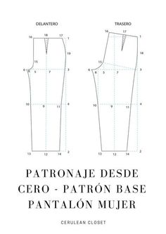 APRENDE HACER PANTALON DE PIJAMA PASO A PASO